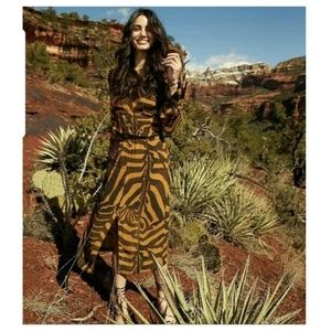 H&M Studio zebra dress